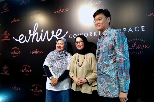 EV HIVE GANDENG POS PROPERTI INDONESIA PASANG RUANG KERJA STARTUP