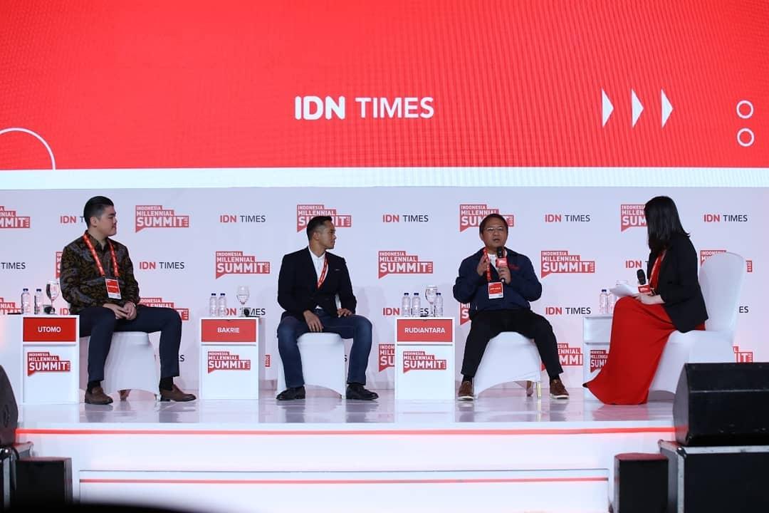IDN MEDIA SUKSES MENYELENGGARAKAN INDONESIA MILLENIAL SUMMIT 2019