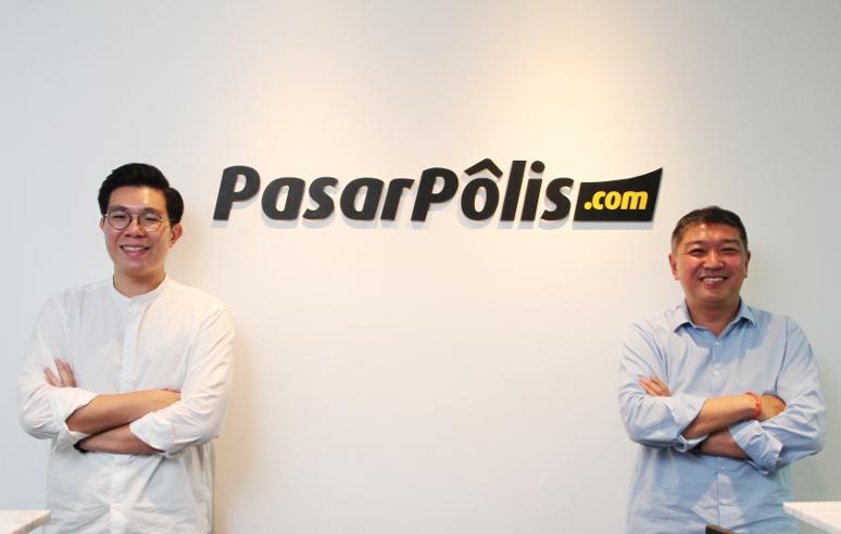 Foto pendiri Pasarpolis