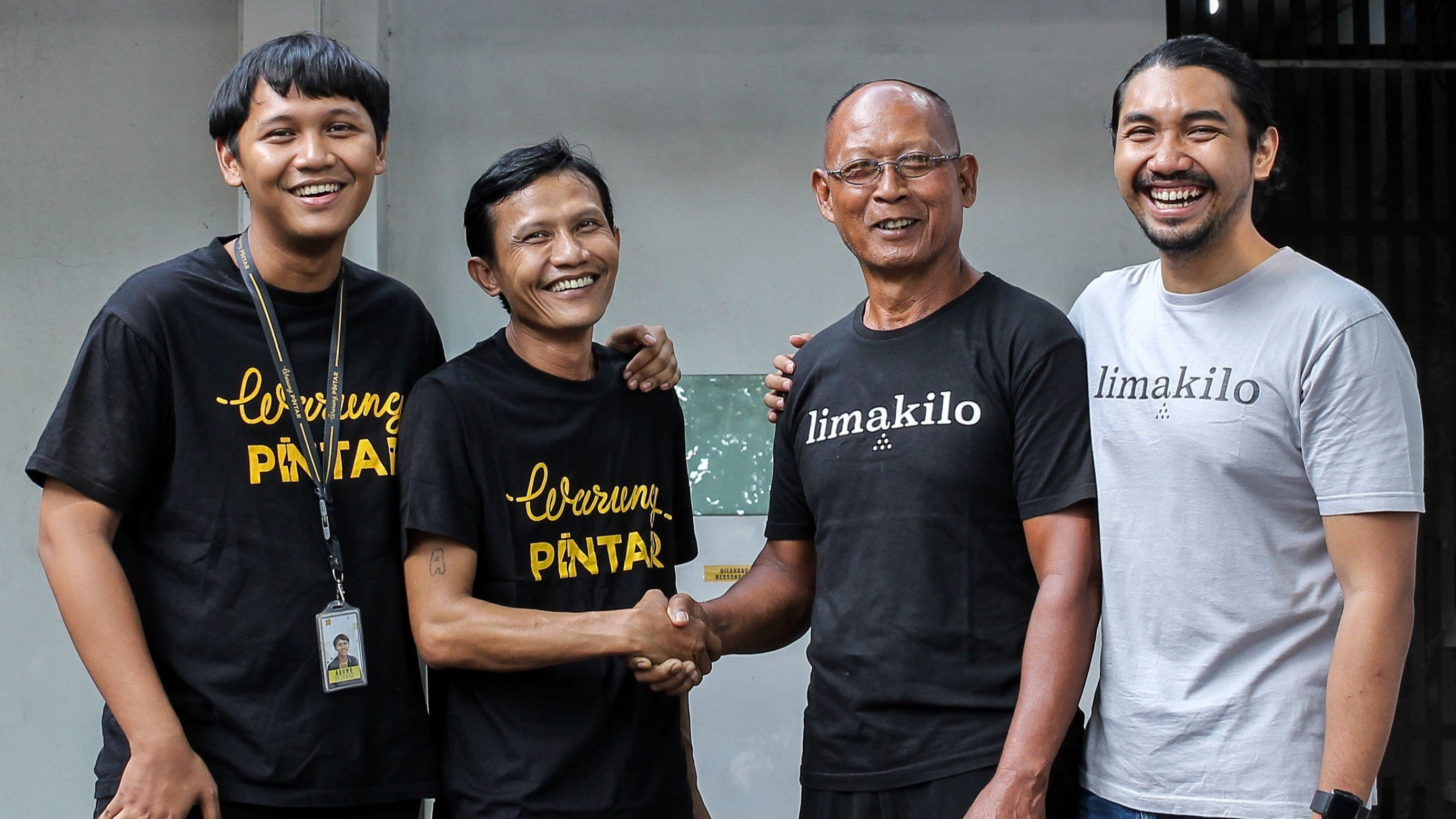 Indonesian Retail Tech Startup Warung Pintar Acquires Limakilo
