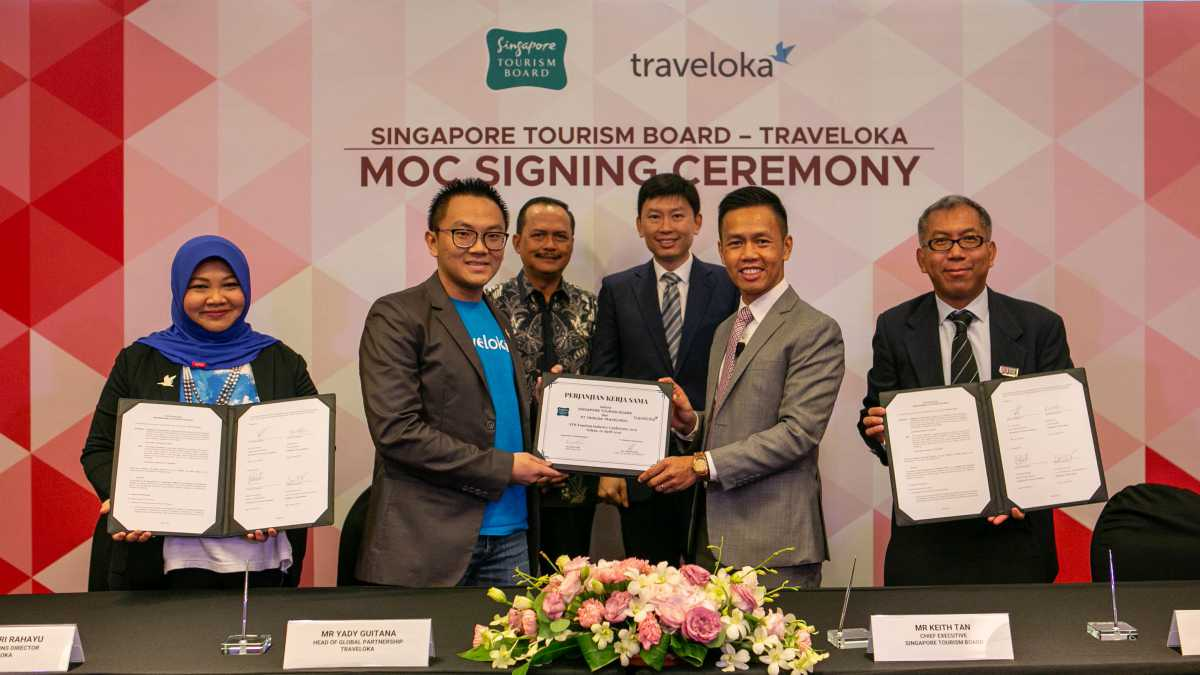 Traveloka and STB in Partnership to Attract More South-East Asian Visitors to Singapore