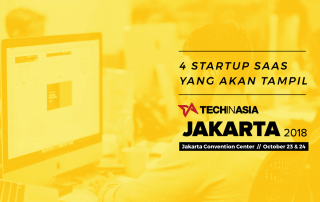 Startup SaaS Tech in Asia Jakarta 2018 | Featured Image