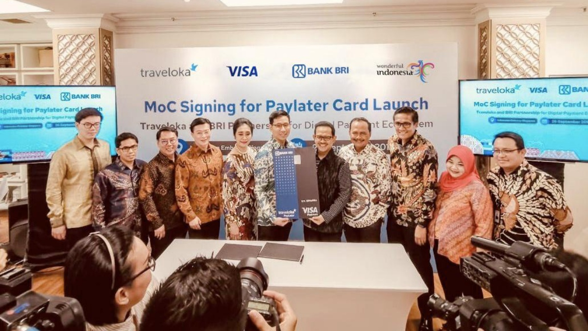 Bank BRI and Traveloka to Launch PayLater Card