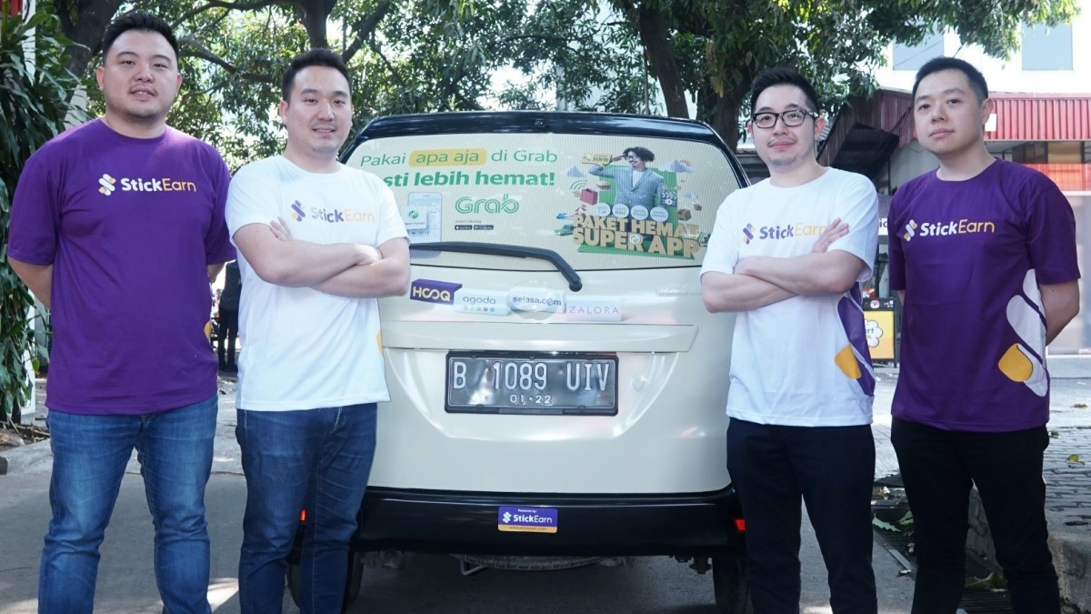 StickEarn Raises $5.5m from East Ventures and SMDV to Take Its Vehicle Ads to New Places