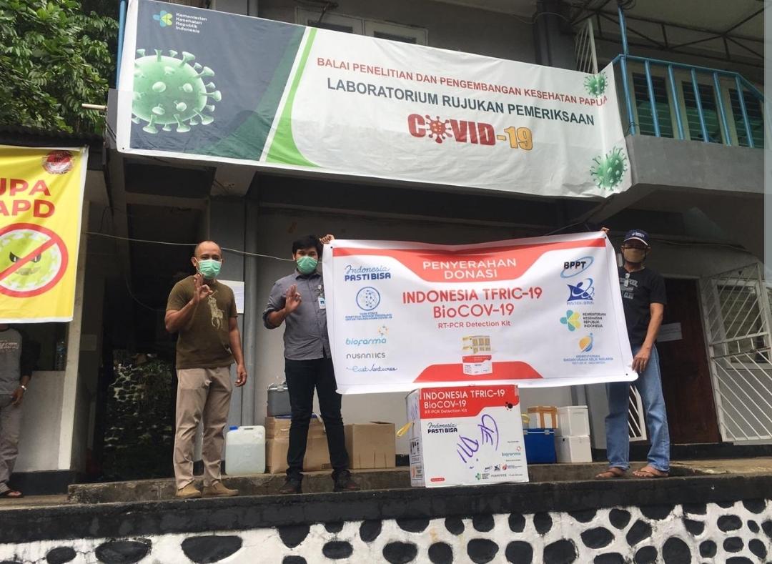Indonesia PASTI BISA Donasi 100.020 Test Kit
