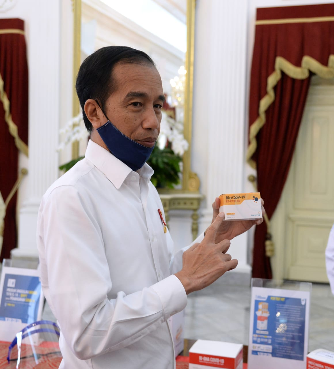 Indonesia PASTI BISA Donates RT-PCR Test Kits