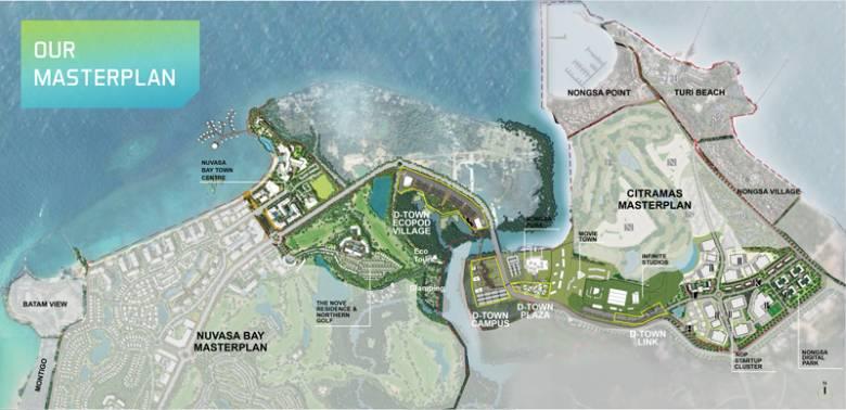 Nongsa D Town masterplan