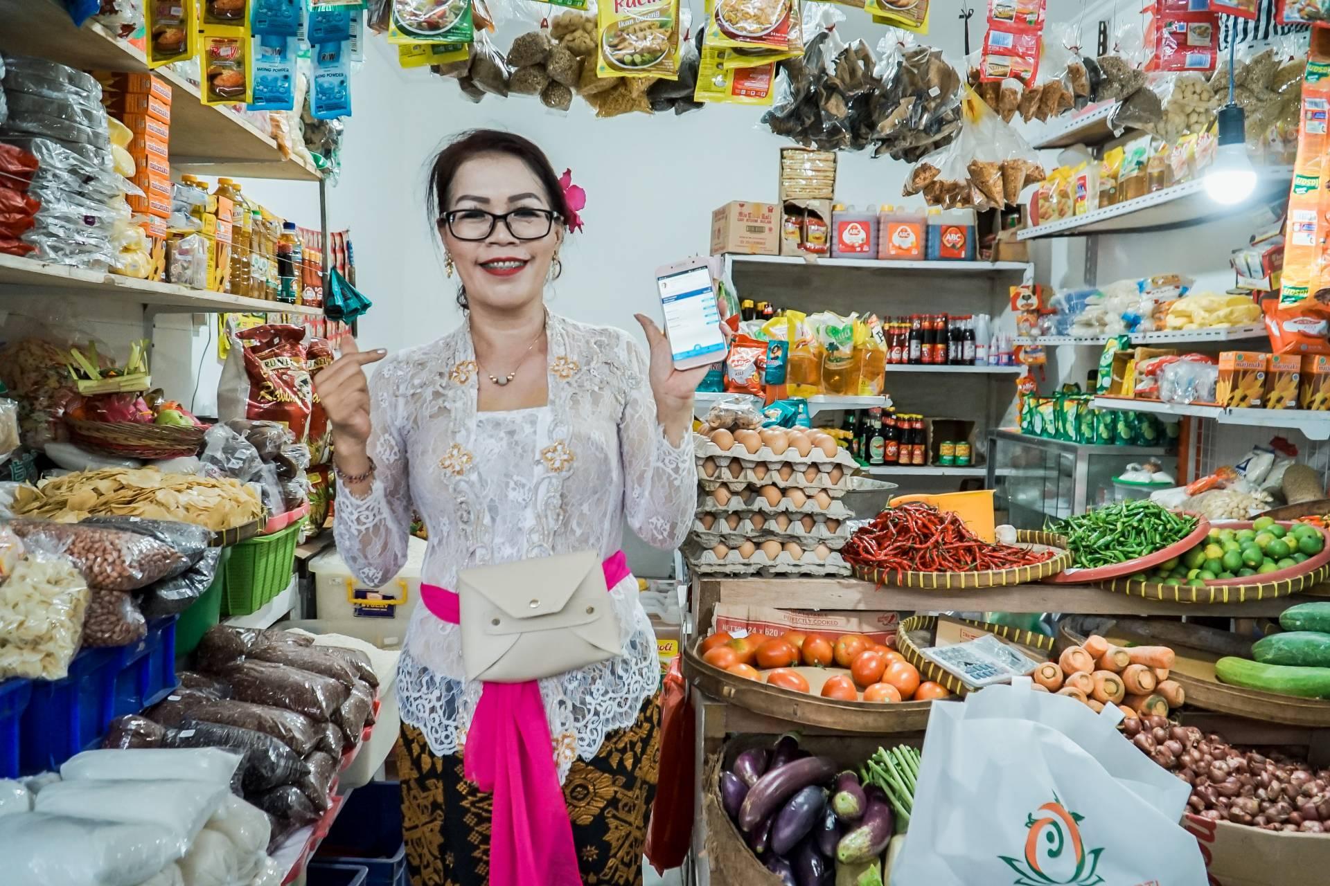 Adoption of QRIS at Phula Kerti Market (Source: Bank Indonesia Bali)