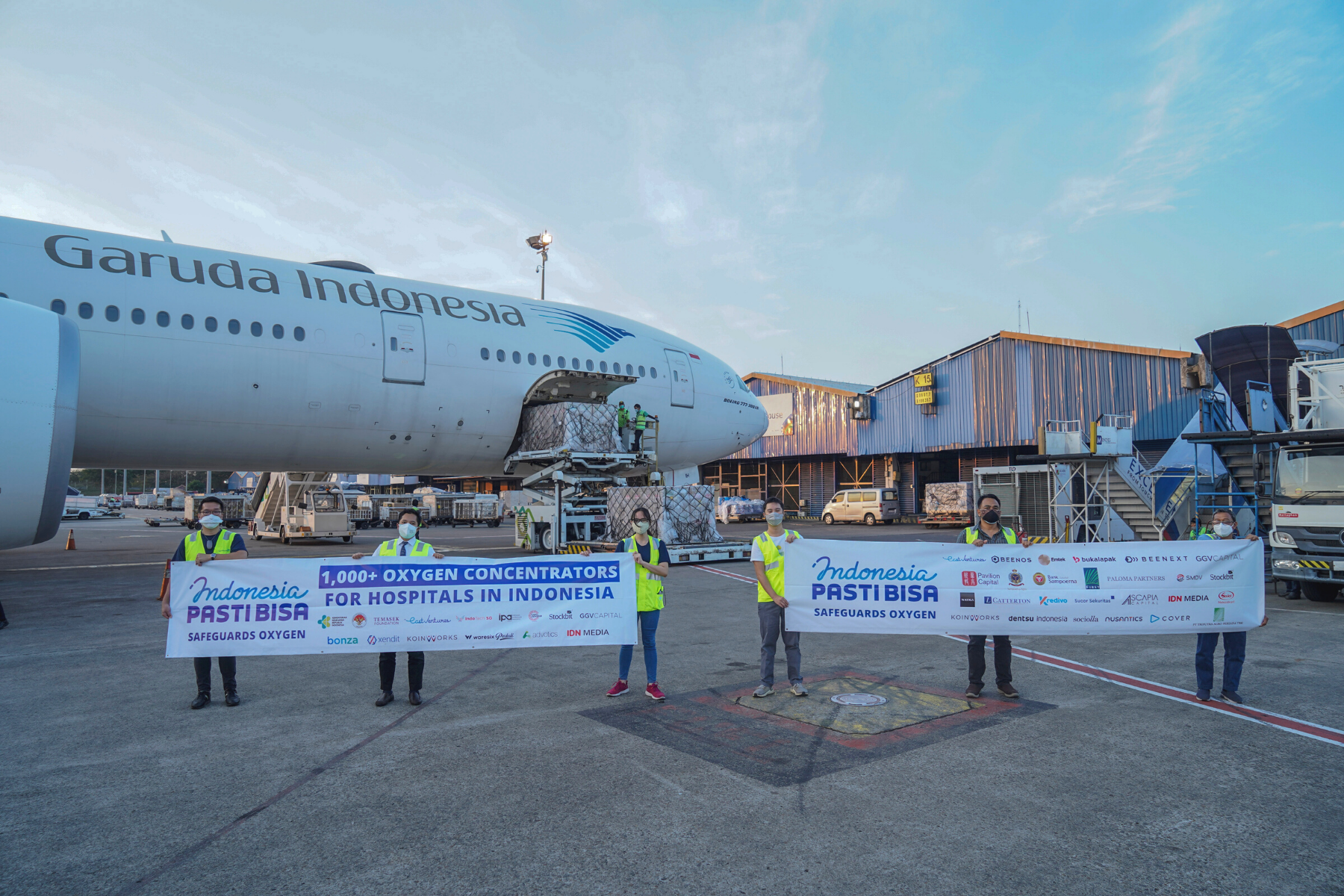 Indonesia PASTI BISA Safeguards Oxygen raises over US$ 1 million to donate 1,450 oxygen concentrators for COVID-19 patients