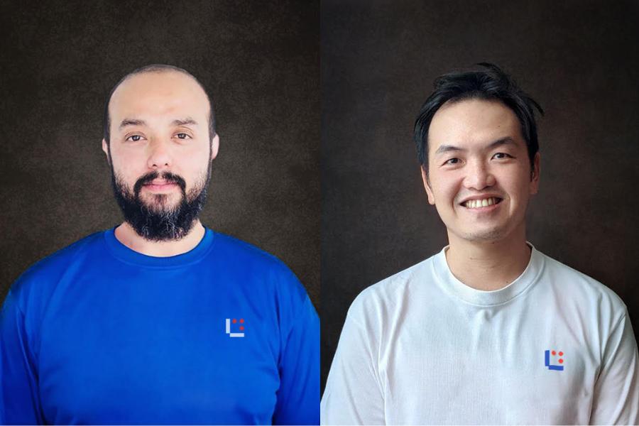Co-Founders of Luwjistik Syed Ali Ridha Mdihid & Wong Yingming